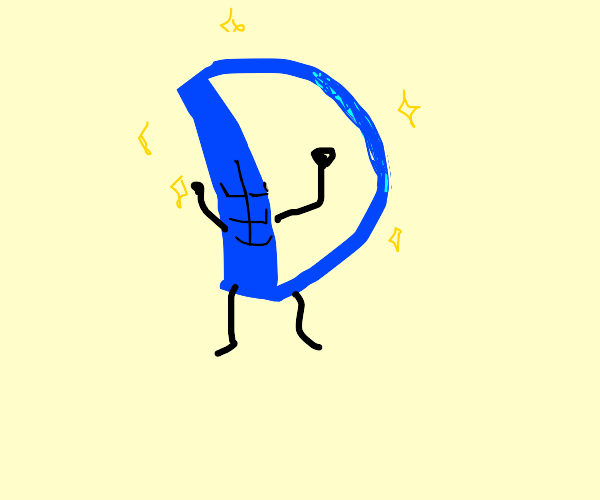 D of Drawception with abs of steel