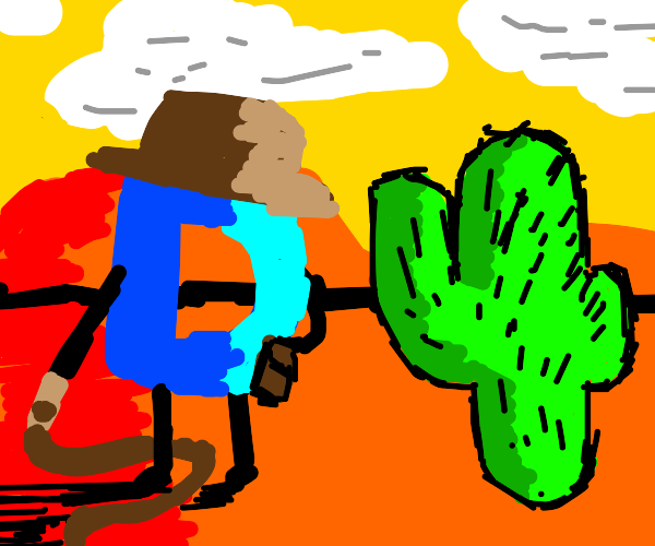 Cowboy Drawception D