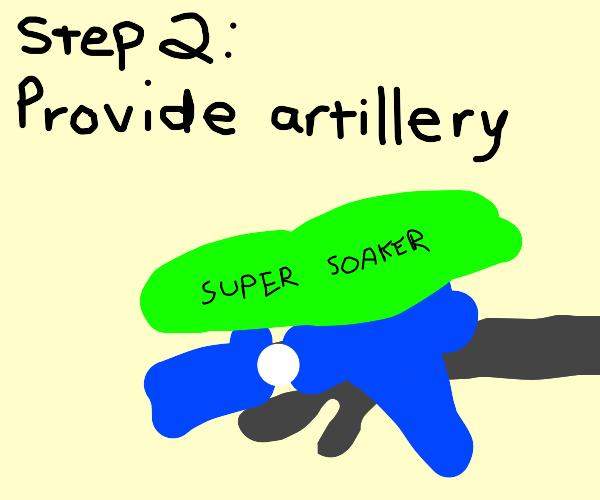 Step 1: Gather an Army
