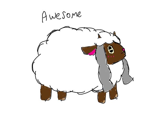 Awesome sheep