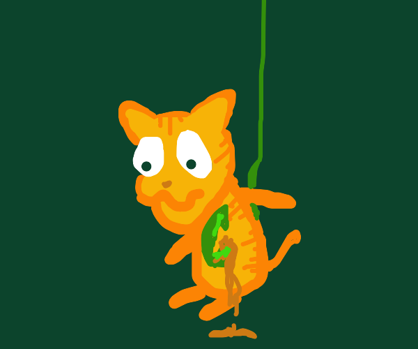 Garfield Hooked