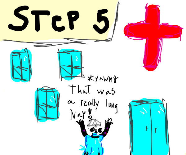 Step 5: Wake up from coma