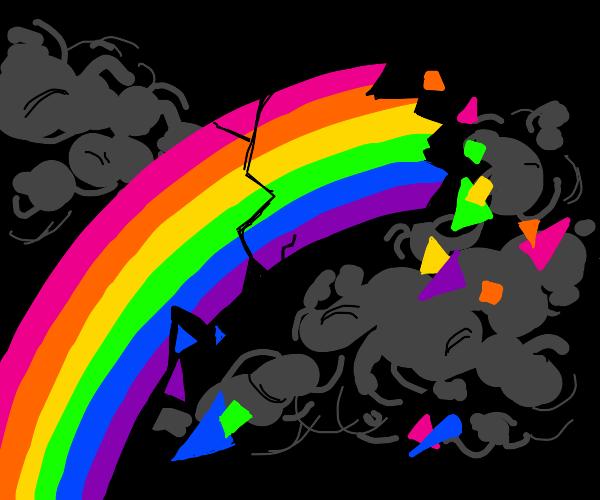 Dead rainbow