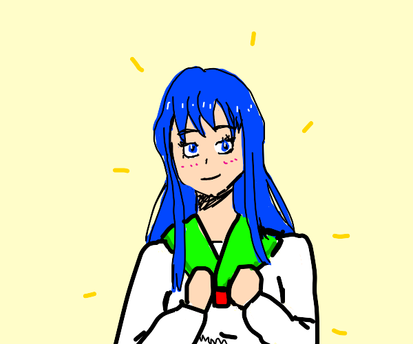 Pretty anime looking girl