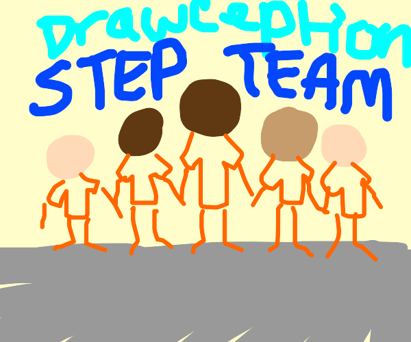 Drawception step competition