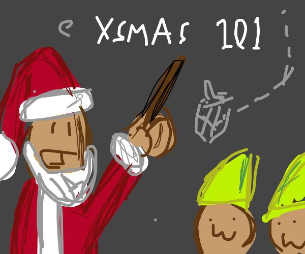 Santa teaches elves owo 101