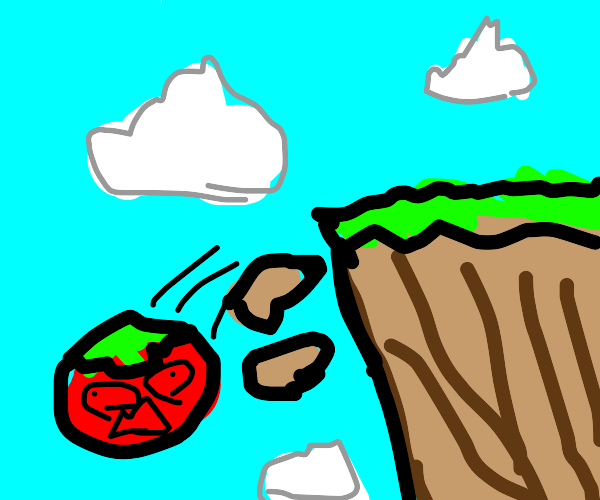 Tomato dies in brutal accident