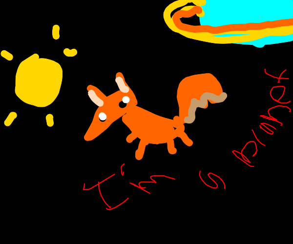planet fox in his solar system
