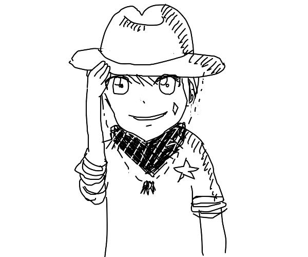 Anime cowboy