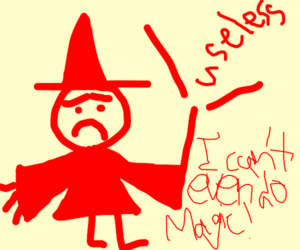 USELESS RED WIZARD