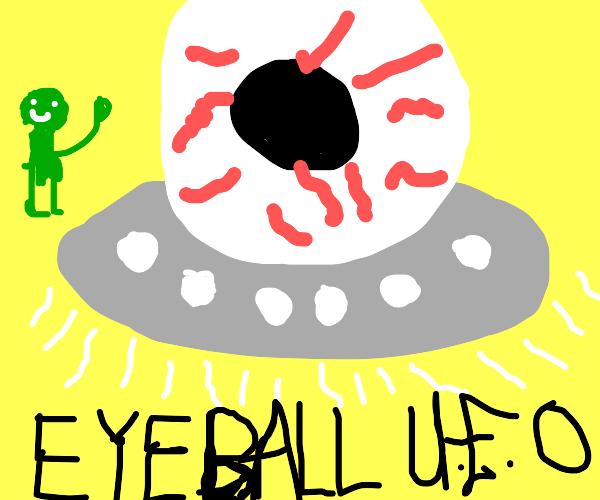 Eyeball UFO