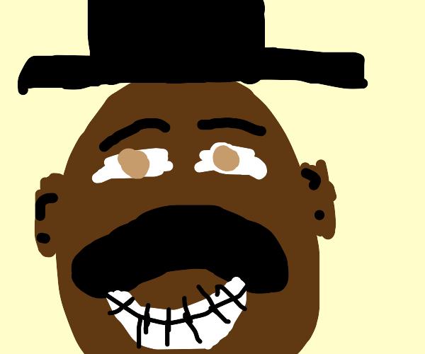 Steve Harvey in a top hat