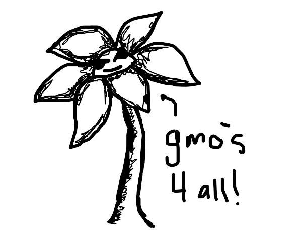 Evil GMO flower
