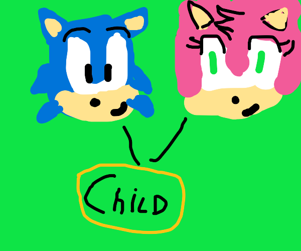 Amy and Sonic's lovechild living their legacy