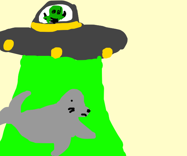 Ailen abduct seal