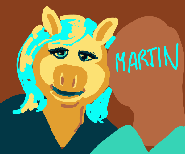 Miss Piggy x Martin