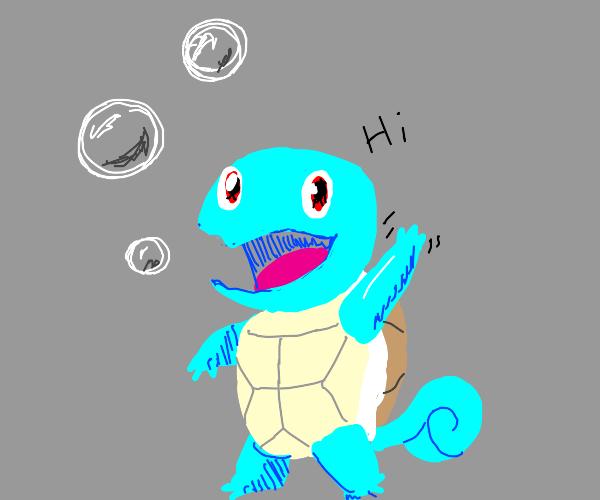 Kawai turtle says hi