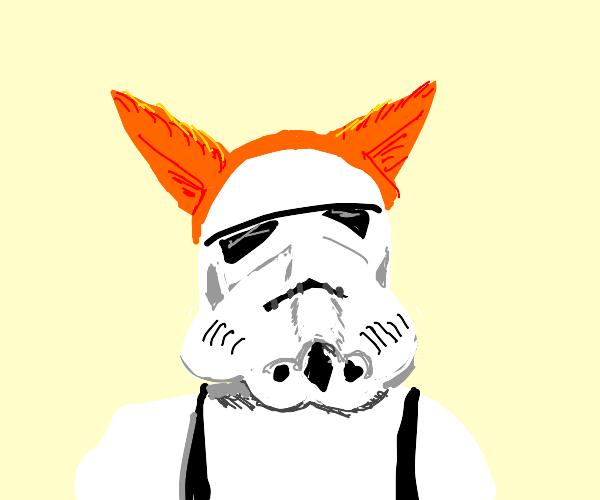 Furry stormtrooper
