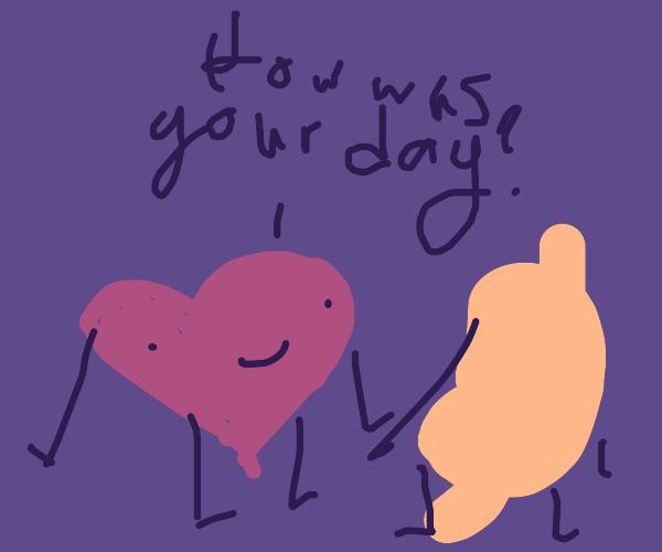 a conversation between organs