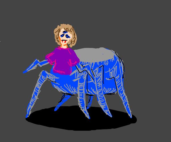 spider and girl hybrid