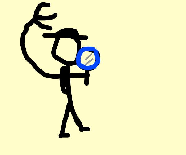 Stick Figure Inspector Gadget