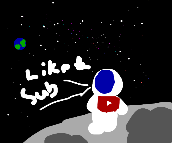 What if the first astronauts were YouTubers?