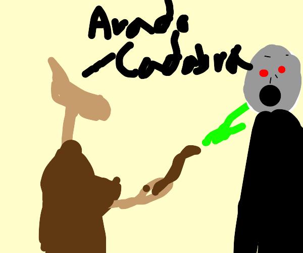 Jarjar binks killed Voldemort