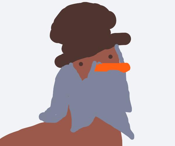 daVinci but he is a robin (bird)