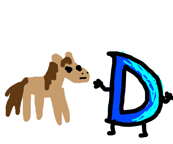 Horses hate Drawception