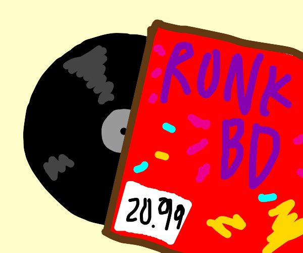Ah yes, the new RONKBD album for $20.99