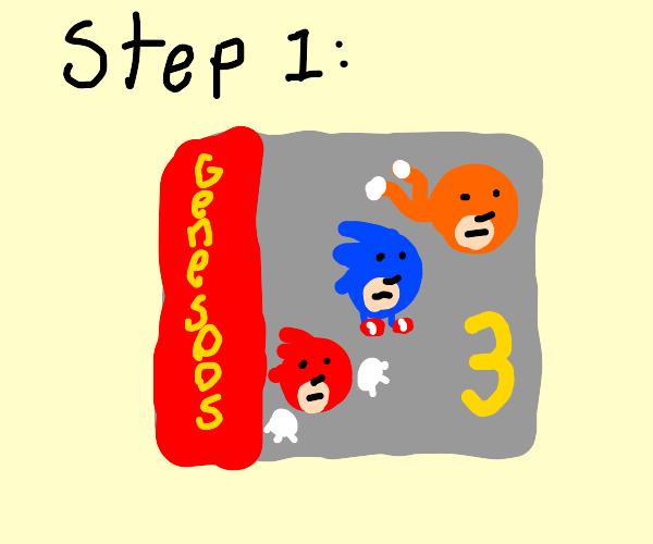 Step 1: Play Sonic 3