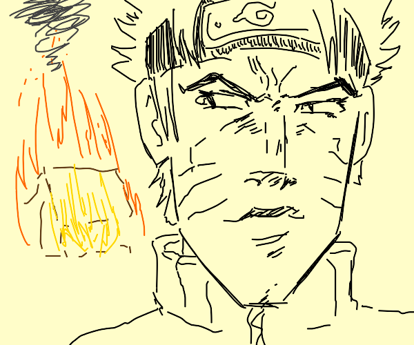 naruto jojo starts a fire and is proud