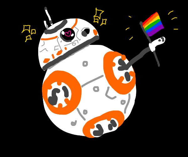 BB8 supports LGBTQ+