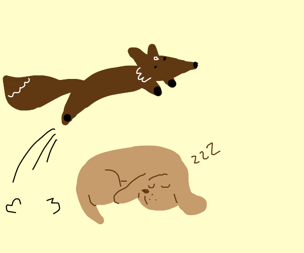 The quick brown fox jumps over the sleepy dog