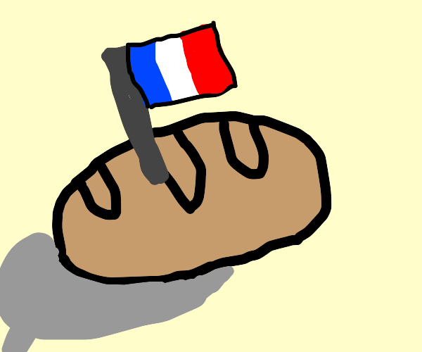 french bread (not baguette)