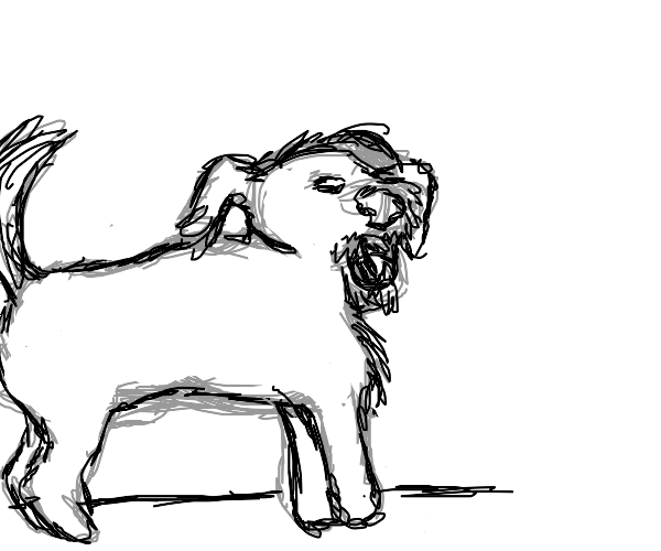 borking doggo