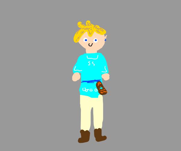 Link from Legend of Zelda Breath of the Wild