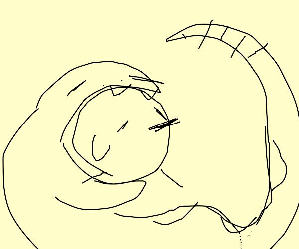 Snake + Chick