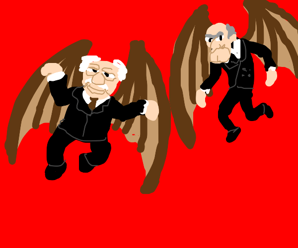 flying old people