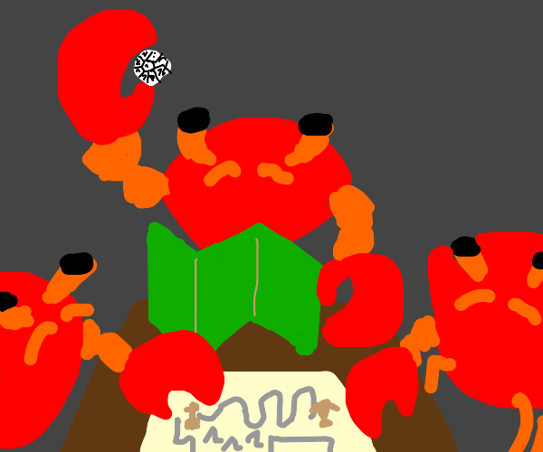 Crab is a Dungeon Master
