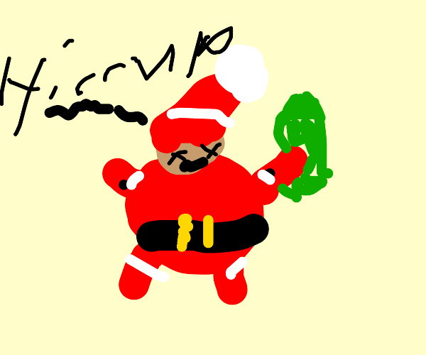 Drunk Santa