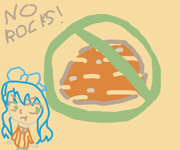 NO ROCKS!