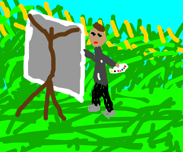 Corn Painter