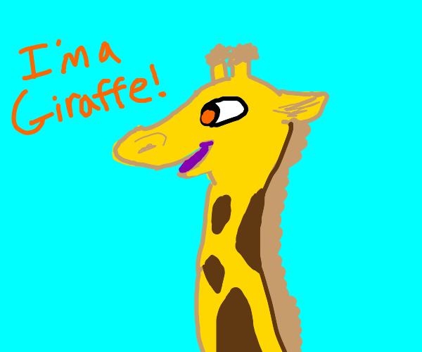 Ima Giraffe!