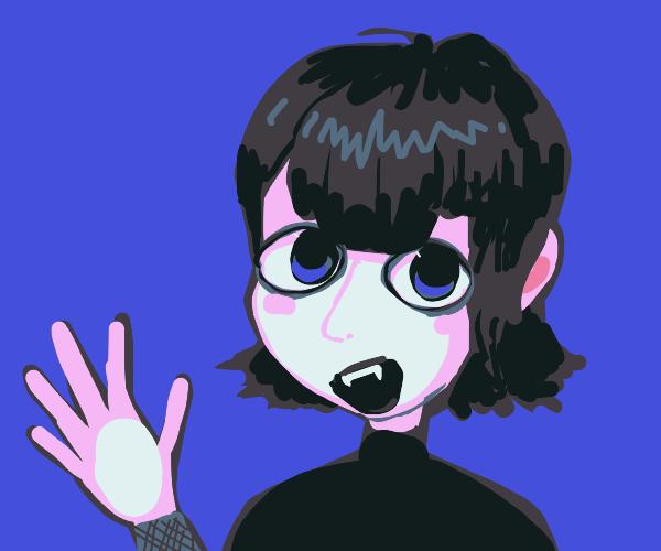 Emo vampire from cheesy movie