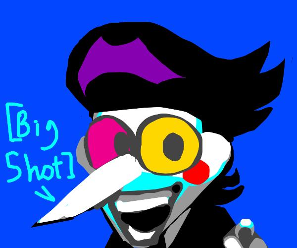 spamton calls you a [[big shot]]