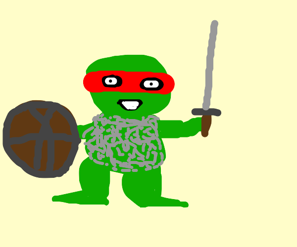Frog the Warrior