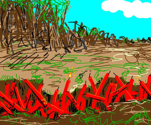Explosive Creek