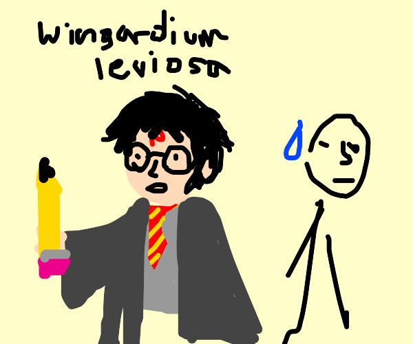 Those arnt wands Harry!