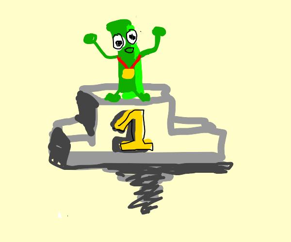 Green bean wins gold